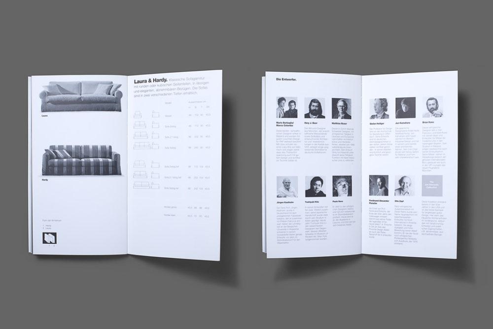 Interprofil Broschüre Gestaltung die Designer