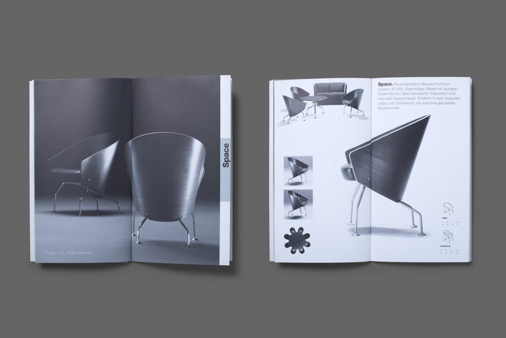 Interprofil Broschüre Gestaltung