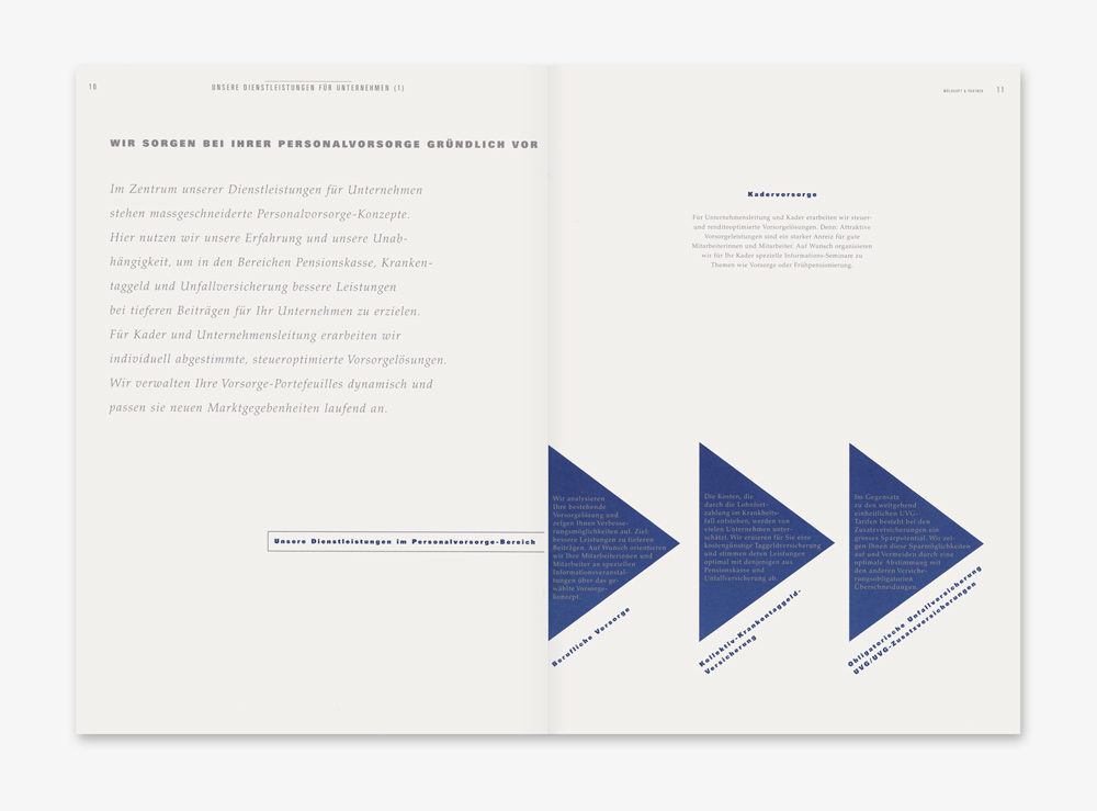 Mühlhaupt & Partner Eschenz Imagebroschuere Finanzplanung