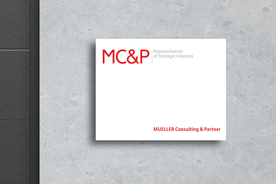 Müller Consulting & Partner MC&P Corporate Design