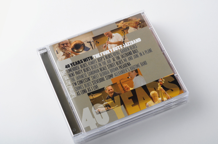 CD Cover Booklet Design Funky Butt Jazzband Peter Kaelin