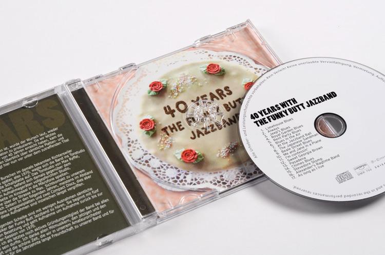 CD Coverdesign Funky Butt Jazzband