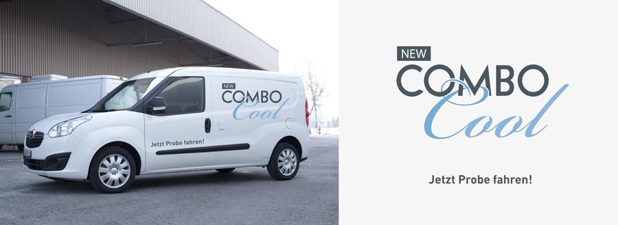 Coolingvans Kühlfahrzeuge | Logo Opel Combo Cool