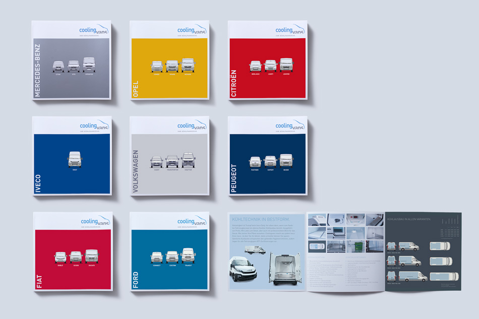 Coolingvans Kühlfahrzeuge | Produktprospekte