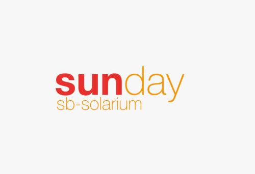 Irene Leder Erscheinungsbild Logo 'sunday' bs-solarium