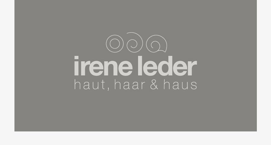irene leder logo design