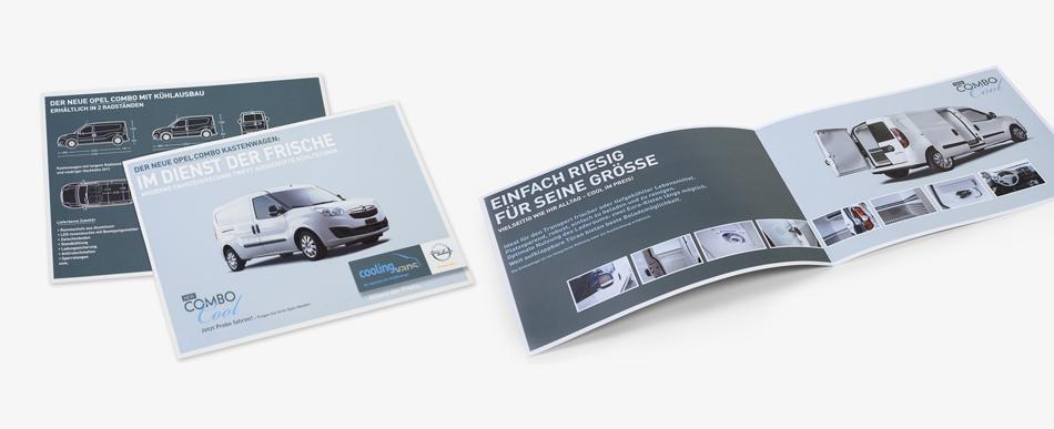 Coolingvans Kühlfahrzeuge | Flyer Combo Cool