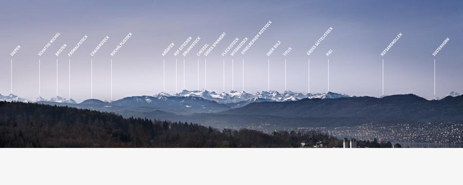 Marti Holding AG Immobilielien Verkaufsdokumentation Alpenpanorama Glarner Alpen