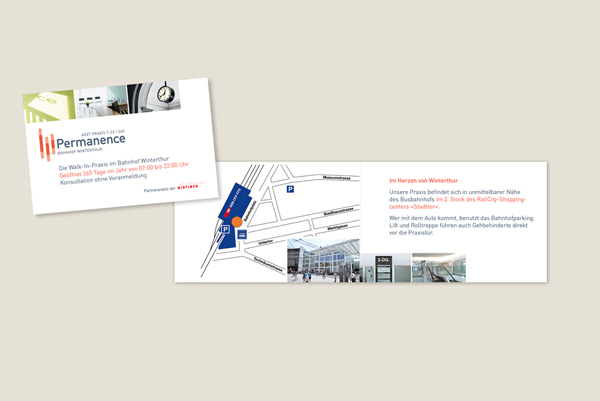 Permanence Winterthur Corporate Design Flyer