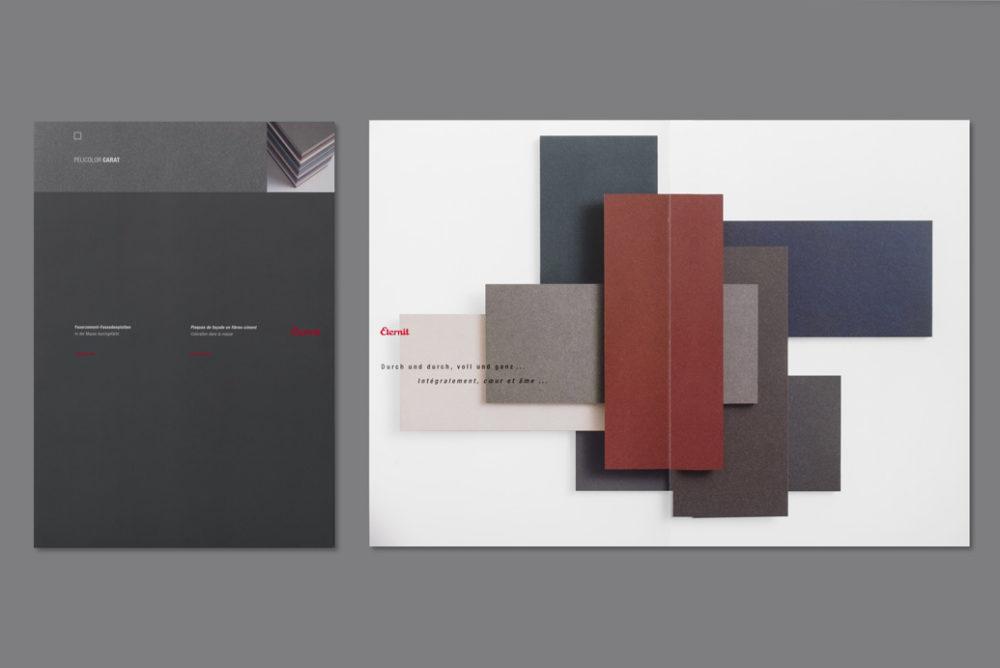 Eternit Schweiz Prospekt neue Farben