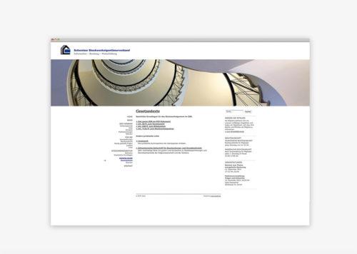 Schweizer Stockwerkeigentümerverband | Bildkonzept Webseite