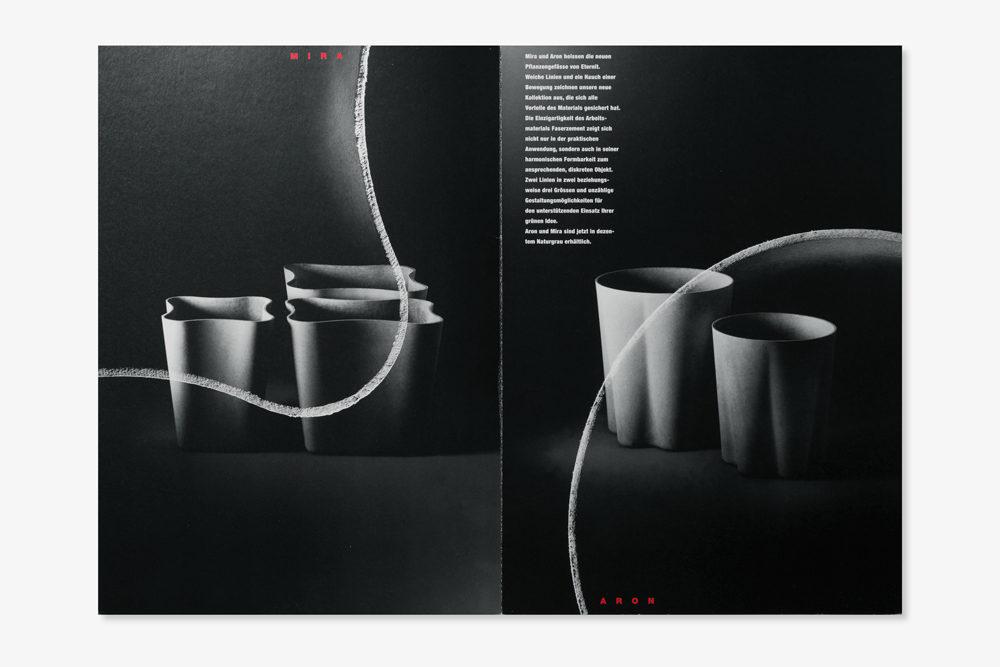 Eternit (Schweiz) | Prospekt Aron/Mira Pflanzengefässe aus Faserzement