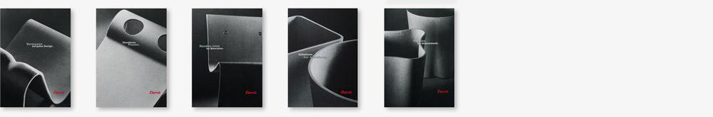 Eternit (Schweiz) Wohnbedarf Prospekt Designerobjekte aus Faserzement