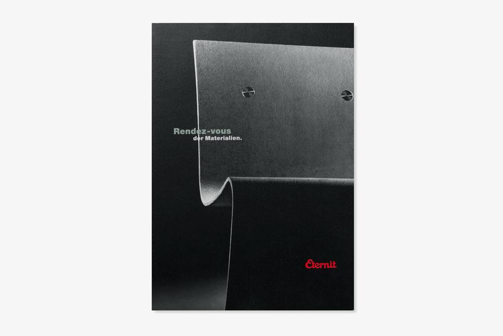 Eternit (Schweiz) | Prospekt Sitzbank Patrik Zulauf