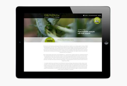 gsundpur Konzept Webdesign Fotografie