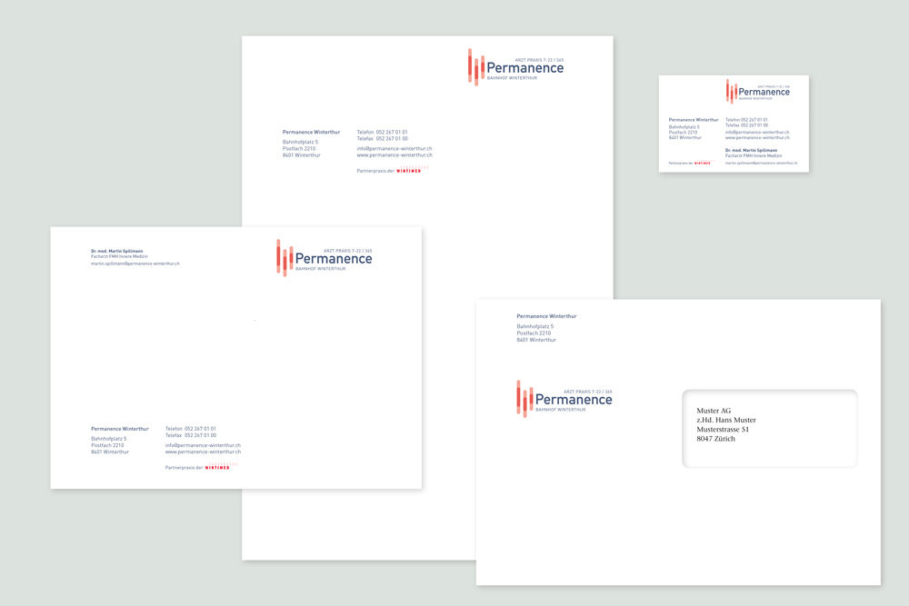 Permanence Winterthur Corporate Design