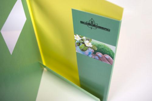 Schellenberg Gartenbau Gestaltung Offertenmappen